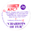 KFC Looney Tunes 26-Chariots-of-Fur-back.