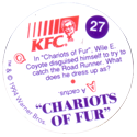KFC Looney Tunes 27-Chariots-of-Fur-back.