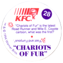 KFC Looney Tunes 28-Chariots-of-Fur-back.