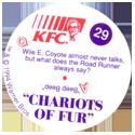 KFC Looney Tunes 29-Chariots-of-Fur-back.