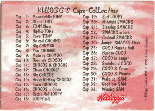 Kelloggs > Coole Caps Kellogg's-Caps-Collection-Checklist.