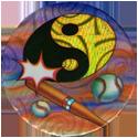 Laser Caps > Yin-yangs & 8-balls Baseball-yin-yang.
