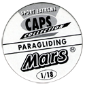 Mars Sport Extreme Caps Collection Back.