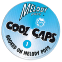 Melody Pops Cool Caps Back.
