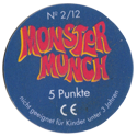 Monster Munch (Space Jam) Back-5-Punkte.