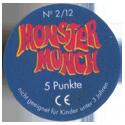 Monster Munch (Space Jam) Back-5-Punkte.