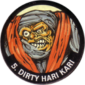 Monster Ninja Warriors in my pocket 05-Dirty-Hari-Kari.