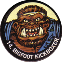 Monster Ninja Warriors in my pocket 14-Bigfoot-Kickboxer.