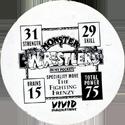 Monster Wrestlers in my pocket Piranha-the-Piledriver-(back).