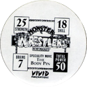 Monster Wrestlers in my pocket Sabretooth-(back).