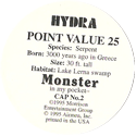 Monster in my pocket 02-Hydra-(back).