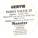 Monster in my pocket 05-Griffin-(back).