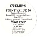 Monster in my pocket 08-Cyclops-(back).