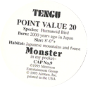 Monster in my pocket 09-Tengu-(back).