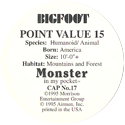 Monster in my pocket 17-Bigfoot-(back).