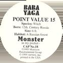 Monster in my pocket 18-Baba-Yoga-(back).