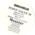 Monster in my pocket 23-Hobgoblin-(back).
