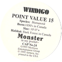 Monster in my pocket 24-Windigo-(back).