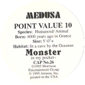 Monster in my pocket 26-Medusa-(back).