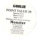 Monster in my pocket 27-Goblin-(back).