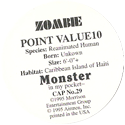 Monster in my pocket 29-Zombie-(back).