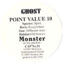 Monster in my pocket 31-Ghost-(back).