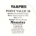 Monster in my pocket 33-Vampire-(back).