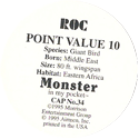 Monster in my pocket 34-Roc-(back).