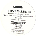 Monster in my pocket 37-Ghoul-(back).