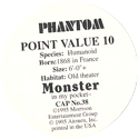 Monster in my pocket 38-Phantom-(back).