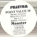 Monster in my pocket 38-Phantom-(back).