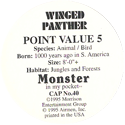 Monster in my pocket 40-Winged-Panther-(back).