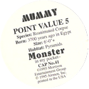 Monster in my pocket 41-Mummy-(back).