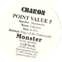 Monster in my pocket 42-Charon-(back).