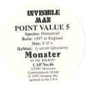 Monster in my pocket 46-Invisible-Man-(back).
