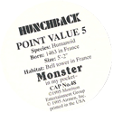 Monster in my pocket 48-Hunchback-(back).