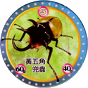 MushiKing The Guardians of the Forest 13-黃五角兜蟲-Five-Horned-Beetle.