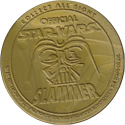 Official Star Wars Caps Slammers Back-(Gold).