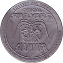 Official Star Wars Caps Slammers Back-(Silver).