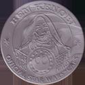 Official Star Wars Caps Slammers Ben-Kenobi-(Silver).