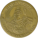 Official Star Wars Caps Slammers Boba-Fett-(Gold).