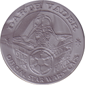 Official Star Wars Caps Slammers Darth-Vader-(Silver).