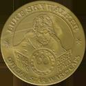 Official Star Wars Caps Slammers Luke-Skywalker-(Gold).