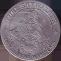 Official Star Wars Caps Slammers Luke-Skywalker-(Silver).