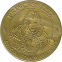 Official Star Wars Caps Slammers Princess-Leia-(Gold).