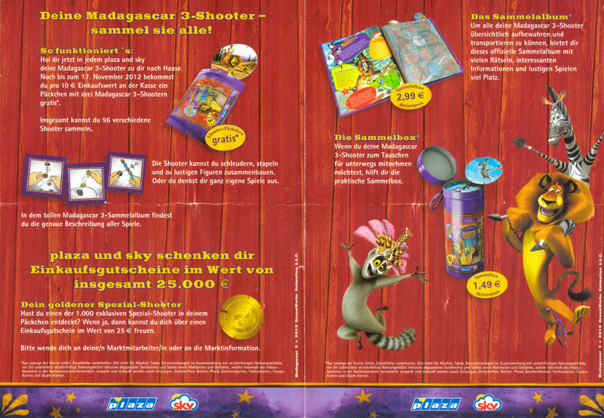 Plaza Sky Madagascar 3 Shooters Packet etc. Mada-poster.
