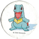 Pokémon (Pokéball back 2) 158-Totodile.