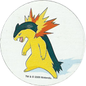 Pokémon (Pokeball back Large sized 2) 157-Typhlosion.