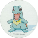 Pokémon (Pokeball back Large sized 2) 158-Totodile.
