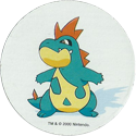 Pokémon (Pokeball back Large sized 2) 159-Croconaw.